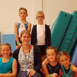 Our gymnastics team