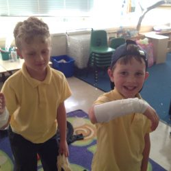 Bandaging our 'wounds' in Horrible Histories Club