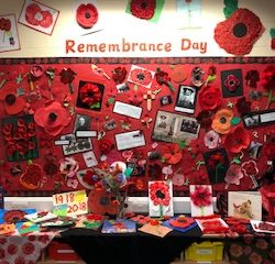 Our Remembrance Day Display