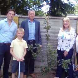 Blu3 donated a Kentish Russett Apple Tree for our garden
