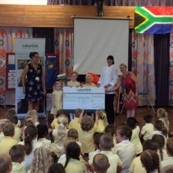 Caterlink donation towards our kitchen garden