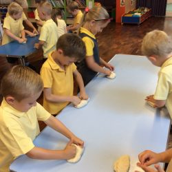Year 1 bread making