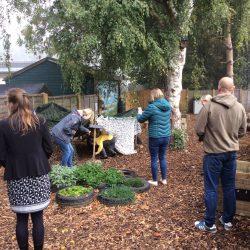 Wildlife Garden opening