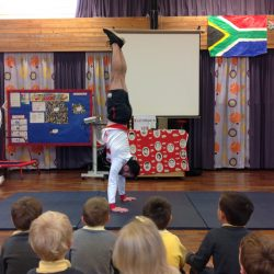 Courtney Tulloch & James Hall, Commonwealth Gymnasts visit our school