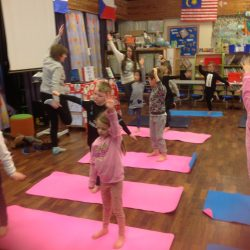 Snow Day - whole school yoga