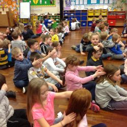 Snow Day - whole school massage