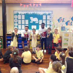 Year 2 meeting Commonwealth gymnasts
